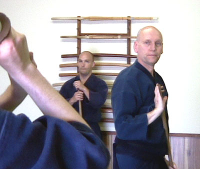 Phil Relnick Sensei at the Jiyushinkan